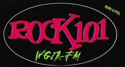 WGIR-FM Rock 101 logo