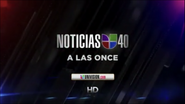 Wuvc noticias univision 40 11pm package 2012