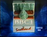 BBC One Scotland Christmas 1988 ident