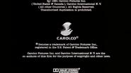 La story closing carolco