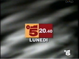 Canale 5 - red and orange 1994