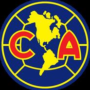 Escudo Club América 1999-2008 Azul