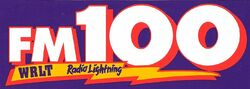 FM 100 WRLT 100.1 Radio Lightning