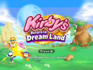 Kirby Return to Dream Land 4x3