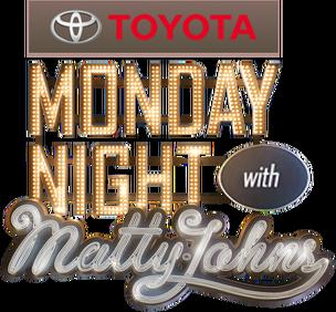 Monday Night With Matty Johns Logo (2013-2016)