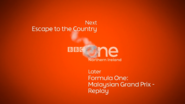 BBC One NI F1 Coming up Next bumper