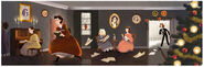 Google Louisa May Alcott's 184th Birthday