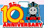 ThomasLand(Japan)10thAnniversaryLogo