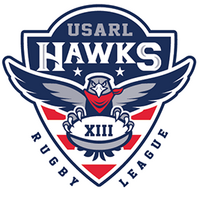 USA hawks rugby league logo