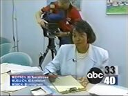 ABC 33-40 station id with Linda Mays 1996