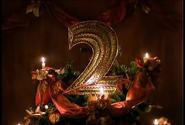 BBC Two Christmas 1993 ident (no logo)