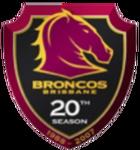 Broncos 20th Season Logo