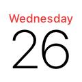 Calendar (iOS 11)