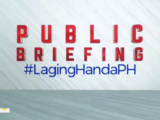 Laging Handa Public Briefing