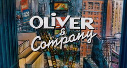 Oliver and Company Title Card