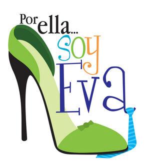 Por Ella Soy Eva Logo