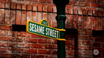 Sesame Street logo seen on Channel 10 News