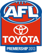 2013 AFL season logo