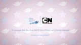 CN 2010 and Dove Self Esteem Project logos