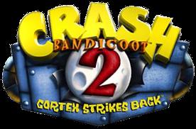 Crash Bandicoot 2 US Logo