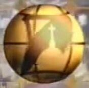 EWTN Golden globe close up