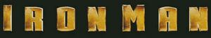 Iron Man early logo