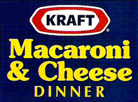 Kraft Macaroni & Cheese Dinner 90s