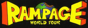 Rampage world tourlogo