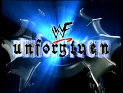 1984 - logo unforgiven wwf