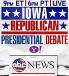 ABC News' Your Voice, Your Vote 2012, Iowa Republican Presidential Debate Video Promo For Saturday Night, December 10, 2011