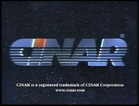 Cinar 1993 logo with latter byline