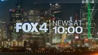 KDFW Fox 4 News 10PM open - 2018