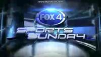 KDFW Fox 4 Sports Sunday open - 2013