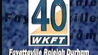 "QUICKIE WKFT-TV 40 ""Lovin' TV 40"" legal ID (October 1997)"