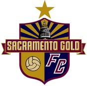 Sacramento Gold FC logo (one gold star)
