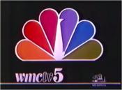 WMC TV 5 NBC 1986