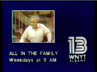 WNYT 13 All in the family Promo