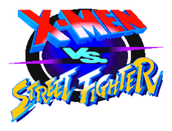 X-Men vs Street Fighter Logo
