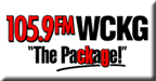 105.9 The Package logo