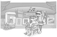 Google Gioachino Rossini's 220th Birthday and Leap Year 2012 (Storyboard)