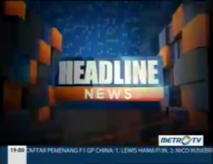 Headline news 2014