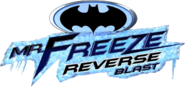 Mr Freeze Reverse Blast logo