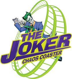 The joker chaos coaster sfog logo
