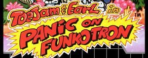 ToeJam and Earl Panic on Funkotron 8bit Logo