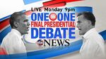 ABC News' Special, Your Voice, Your Vote 2012, One On One Final Presidential Debate Video Promo For Monday Night, October 22, 2012