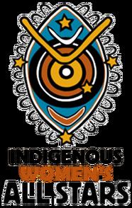 Indigenous womens all stars logo 2010