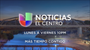 Kvye noticias univision el centro 10pm mas tiempo contigo promo 2019