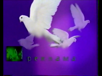 NTV 1997 Lavender Ident Girl and pigeons