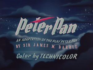 Peter Pan 1953 Logo