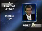 WBRC Channel 6 A Current Affair promo 1989
